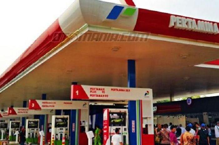 Ilustrasi pom bensin/ SPBU