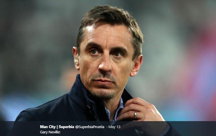 Mantan kapten sekaligus legenda Manchester United, Gary Neville.