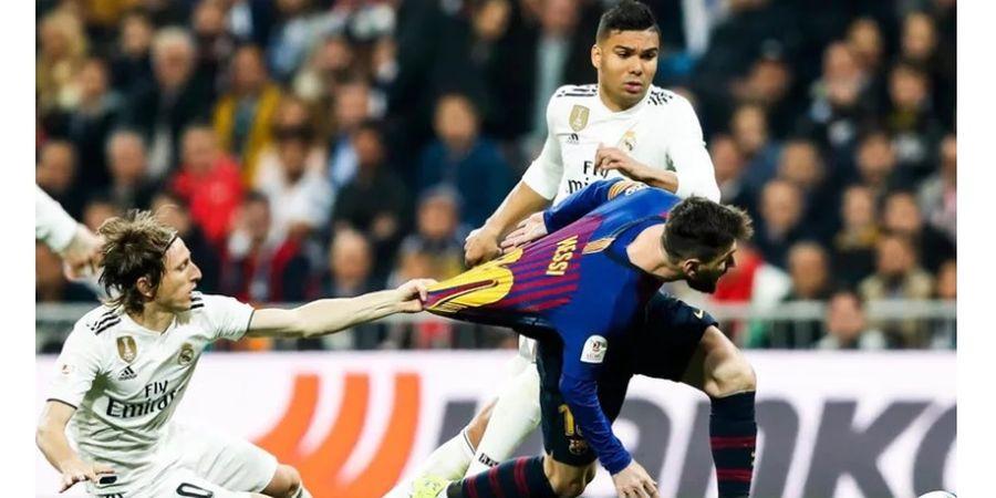 Link Live Streaming SCTV Real Madrid Vs Barcelona - El Clasico Keempat