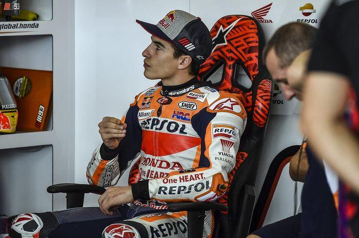 Marc Marquez harus mengakhiri tes MotoGP Sepang lebih awal karena cederanya memburuk