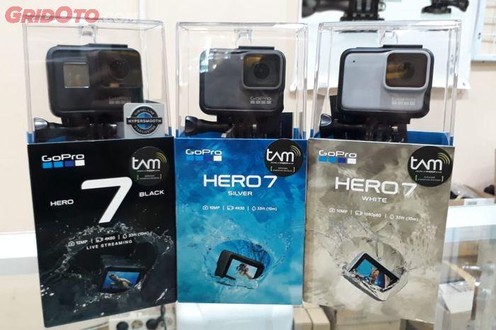 Action cam atau kamera aksi GoPro Hero 7 Series