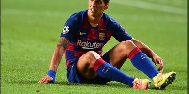Tak Jadi Marah ke Barcelona, Luis Suarez Justru Menangis dan Segera Berkostum Atletico Madrid