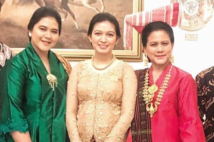 Lihat Foto Jadul Iriana Jokowi, Kahiyang Ayu dan Selvi Ananda Dengan Hijab yang Super Cantik