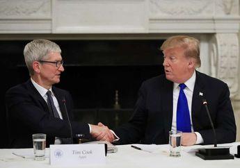 Donald Trump Menyebut Tim Cook Sebagai Seorang Eksekutif Hebat