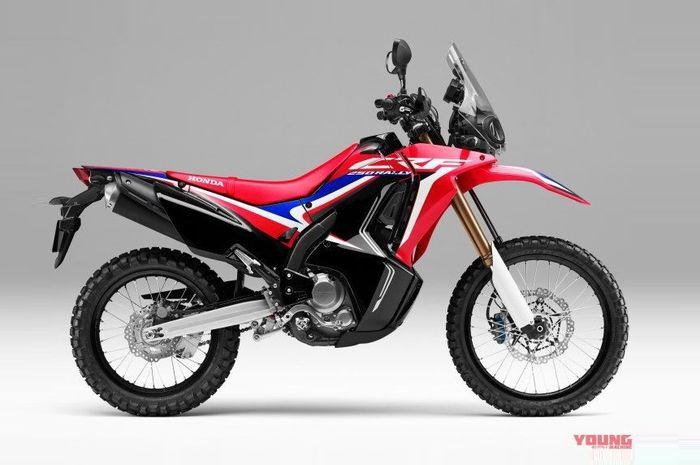 Warna baru Honda CRF250 Rally 2019