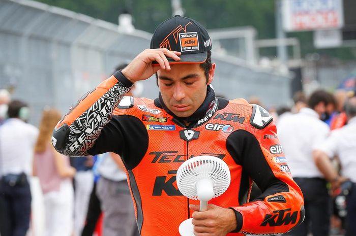 Jelang MotoGP Aragon 2021, pembalap tim Tech3 KTM Factory Racing, Danilo Petrucci nasibnya semakin tidak jelas.