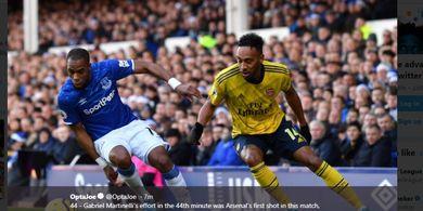 On This Day - Rekor Apik Arsenal Kala Jumpa Everton Dihentikan oleh Seorang Bek