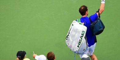 Kalah di Cincinnati, Andy Murray Sudahi Berkompetisi pada Nomor Ganda?