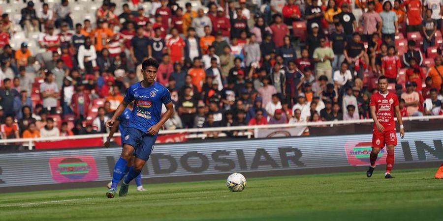 Hanif Sjahbandi Siap Gantikan Peran Makan Konate di Lini Tengah Arema FC