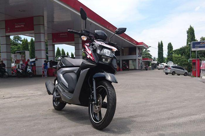 Ilustrasi Yamaha X-Ride