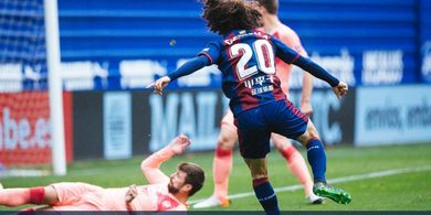 Magis 2 Menit Lionel Messi Hanya Bawa Barcelona Imbangi Eibar