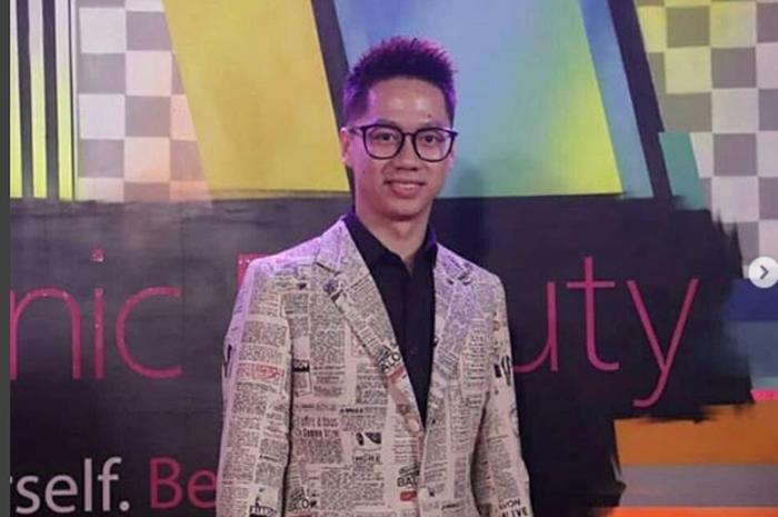 Kevin Sanjaya saat menghadiri Panasonic Gobel Awards 2018
