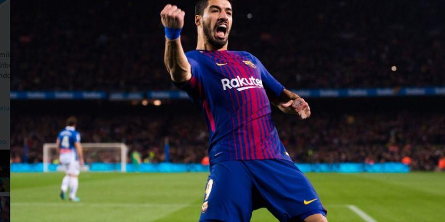 Tahun Baru, Luis Suarez Tunggu Kontrak Baru di Barcelona