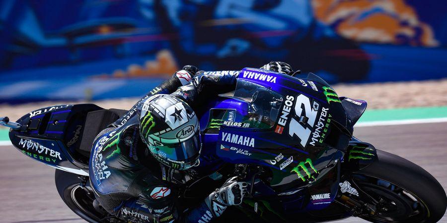 VIDEO - Maverick Vinales Jadi Korban di Tikungan Angker MotoGP Ceska 2020