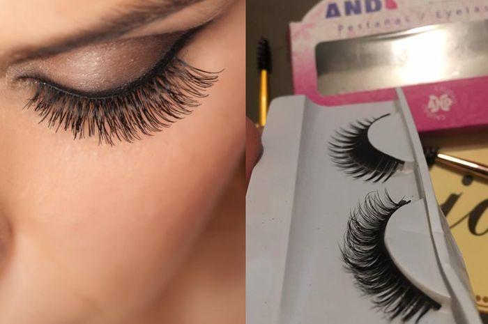 Teknik membuat bulu mata jadi lebih natural