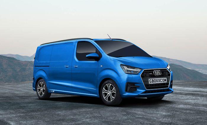 Modifikasi digital Audi diubah menjadi MPV