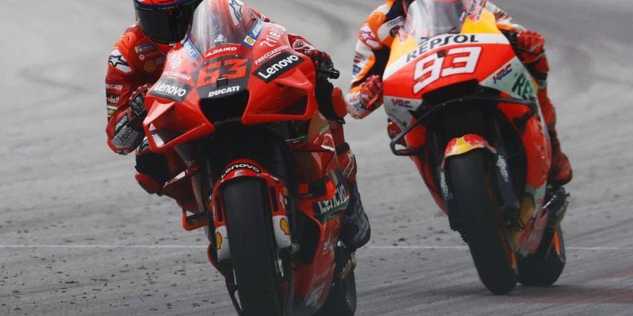 Berharap Tinggi di MotoGP 2021, Francesco Bagnaia Justru Dibuat Kecewa Marc Marquez