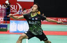 Indonesia Masters 2020 - Selalu Straight Game, Anthony Sinisuka Ginting Tembus Final