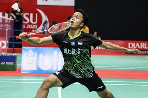 Indonesia Masters 2020 - Selalu Straight Game, Anthony Sinisuka Ginting Tembus Final