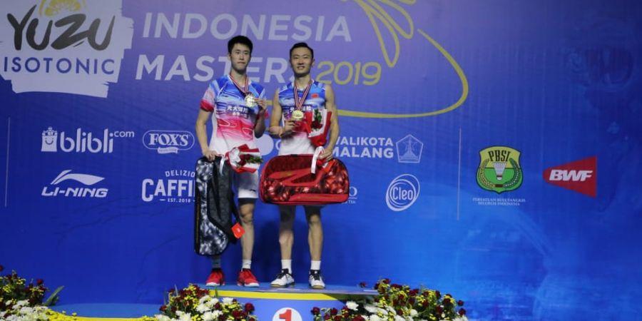 Indonesia Masters 2019 - Jadi Juara, Zhang/Ou Sempat Kesulitan pada Gim Pertama