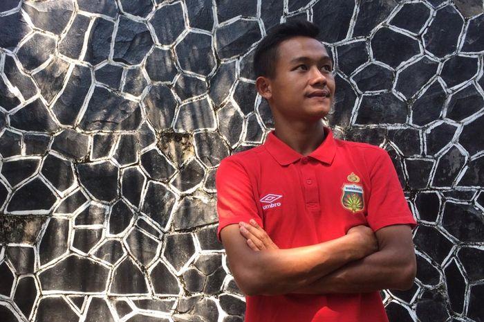 Sani Rizki Fauzi, gelandang muda Bhayangkara FC.