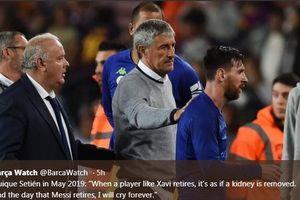 Beranikah Quique Setien Memainkan Lionel Messi Kontra Tim Divisi 3?