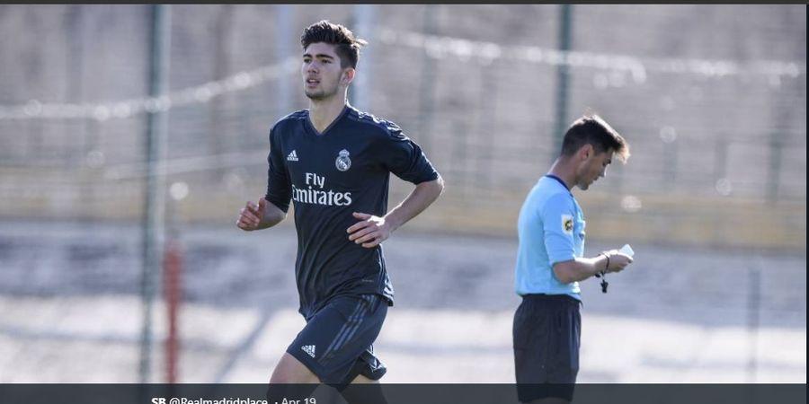 Theo, Anak Ketiga Zinedine Zidane yang Latihan di Tim Utama Real Madrid