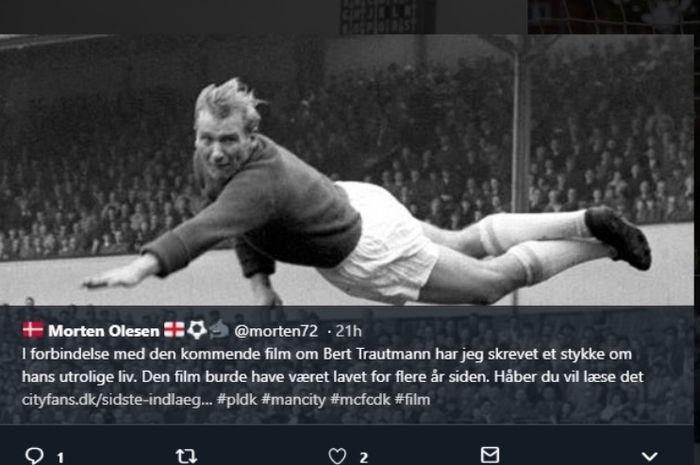 Kiper legendari Macnhester City, Bert Trautmann