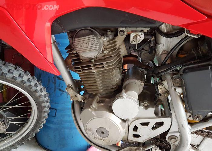 Mesin Honda CRF230F, miripkan sama mesin Honda Tiger?