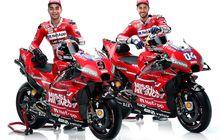 Penampakan Motor dan Skuat Tim Ducati Untuk Musim 2019, Merah Mendominasi