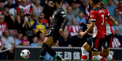 Sadio Mane Bawa Liverpool Ungguli Southampton di Babak Pertama