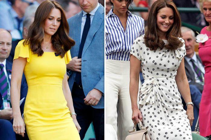 Kate Middleton tidak pernah memakai baju warna oranye