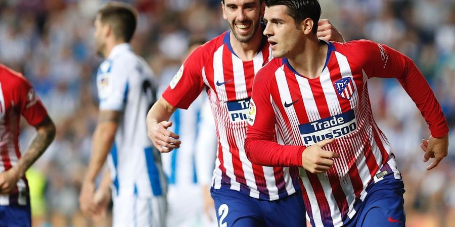 Pegang Leher Alvaro Morata, Wasit Liga Spanyol Dibebastugaskan