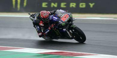 MotoGP Emilia Romagna 2021 - Start ke-15, Quartararo Akui Akan Sulit Tembus ke Depan