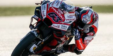 Gagal Finis pada Debut MotoGP, Anak Didik Valentino Rossi Tetap Puas