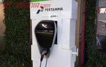 BMW Suplai 1 Unit Charging Station di SPBU Pertamina Kuningan