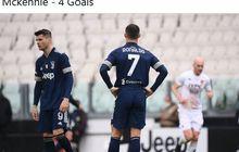Cristiano Ronaldo Rutin Sentuh Bola 1 Kali dalam 25 Menit, Top Scorer Ke-4 Juventus Beri Kritik