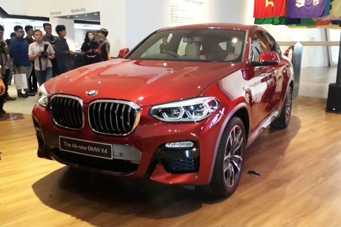 The All-new BMW X4 terlihat lebih sporty
