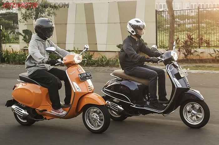 Test Ride Vespa Primavera 150 i-Get ABS & Sprint 150 i-Get ABS