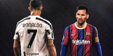 Jumpa di Grup G Liga Champions, Lionel Messi 3-0 Cristiano Ronaldo