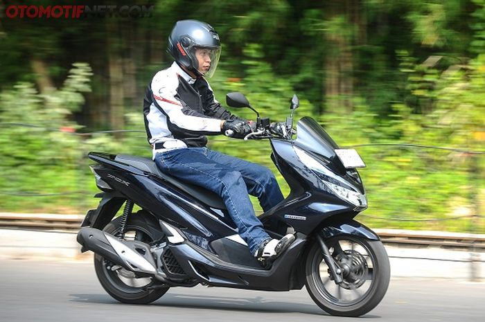 Test Ride All New Honda PCX Hybrid