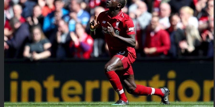 Liverpool Vs Wolves - Sadio Mane Bawa The Reds Memimpin Sementara