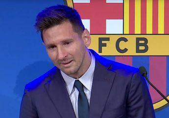 Resmi Berpisah dari Barcelona, Istri Messi Tak Tahu Harus Bilang Apa
