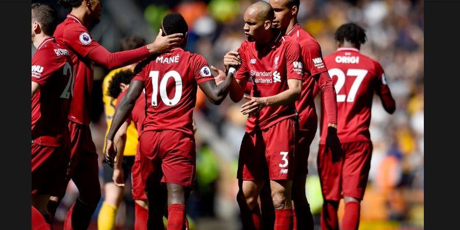 Hasil Liga Inggris - Dua Gol Sadio Mane Tak Cukup Bikin Liverpool Juara