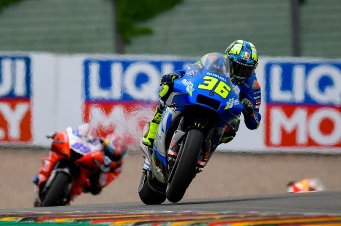 Joan Mir merasa enggak puas dengan hasil di MotoGP Jerman 2021.