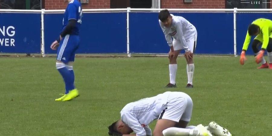 Disaksikan Ratu Tisha, Garuda Select Bermain Imbang dengan Leicester City U-17