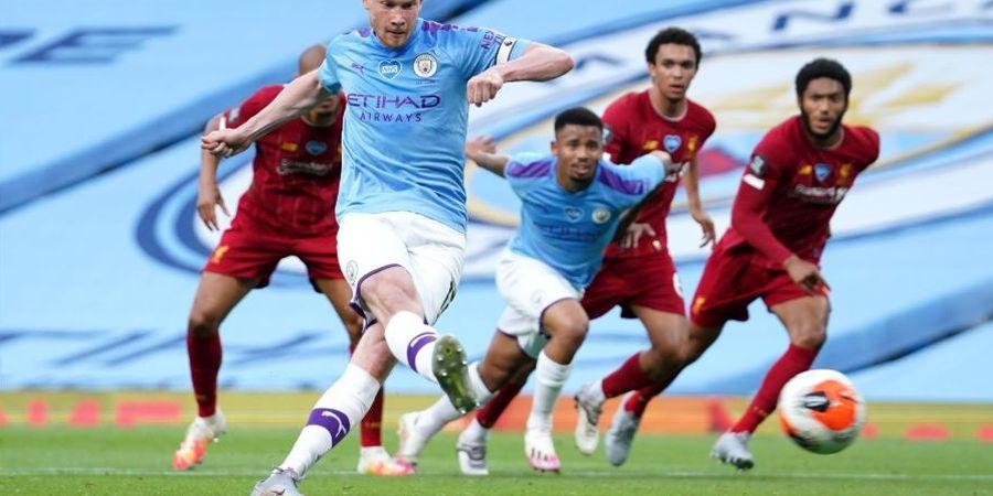 Hasil dan Klasemen Liga Inggris - Liverpool dan Manchester City Kompak Menang