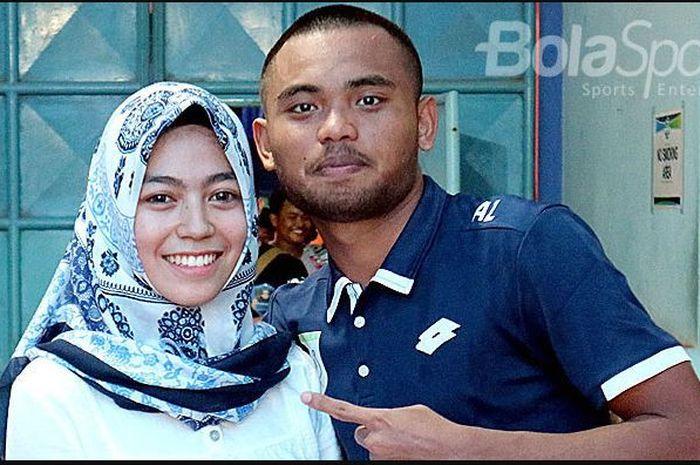 Saddil Ramdani dan mantan kekasihnya Anugrah Sekar Rukmi