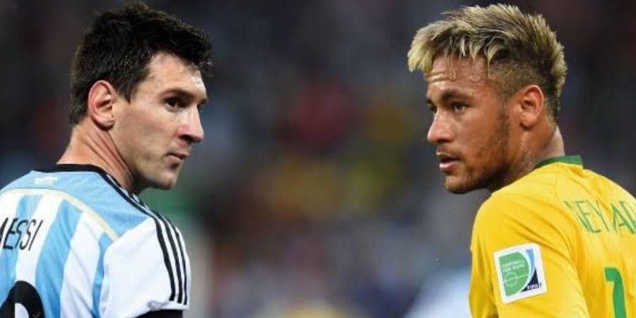 Neymar Ngamuk dan Omong Kasar Usai Suporter Brasil Dukung Lionel Messi dkk Raih Trofi Copa America 2021