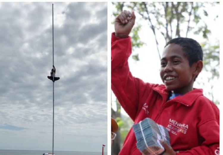 Joni Gagah Berani Panjat Tiang Bendera Setinggi 15 Meter, Ternyata Begini Kondisi Rumahnya!